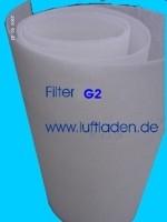 Filtermatte G2 d=10 mm progressiv