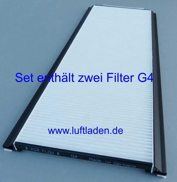Zehnder ComfoAir 350/550 Filter 2*G4 - kompatibel