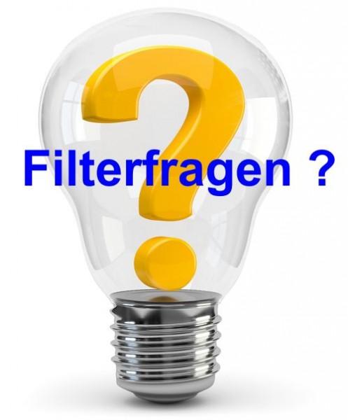 Filter nicht gefunden?
