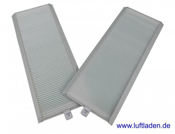 Für Zehnder ComfoAir 350/550 Filter 2*G4 Papprahmen - kompatibel