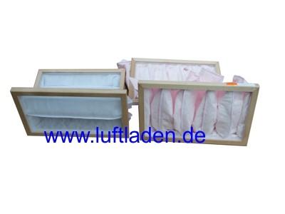 Für Hoval Homevent ZAFS-250 Taschenfilter-Set - kompatibel