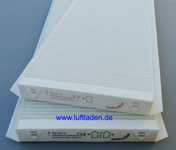 Zehnder G4+F7 ComfoAir Q350/450/600