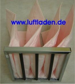 Taschenfilter F7 287*287*360-4T