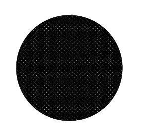 Fränkische 78312692 starline Filter COMPACT schwarz rund