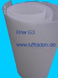 Filtermatte G3 d=20 mm progressiv