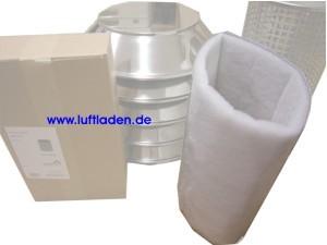 Westaflex Lufteinlassfilter rund