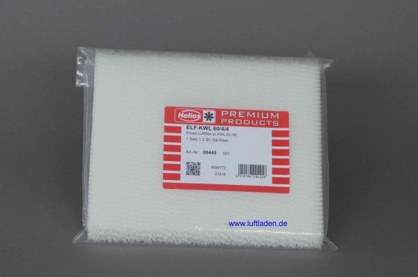Ersatzfilter für KWL EC 60 2xG4