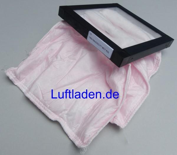Filterbox FFR 100-160 Taschenfilter F7 - komp