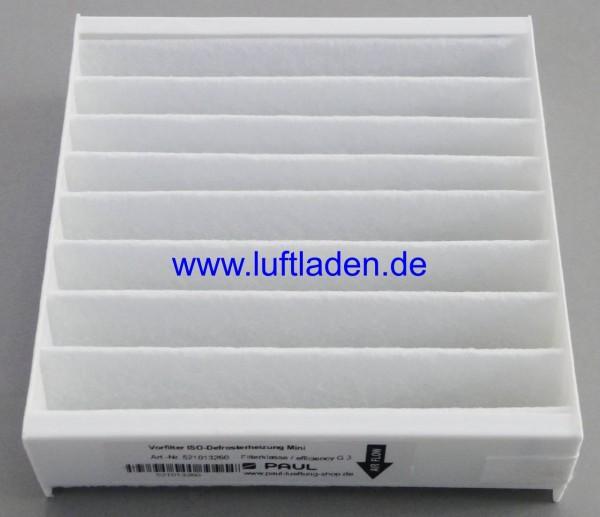 Paul Filter G3 für Iso-Defrosterheizung Mini DN125