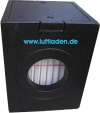 PAUL iso-Filterbox DN160