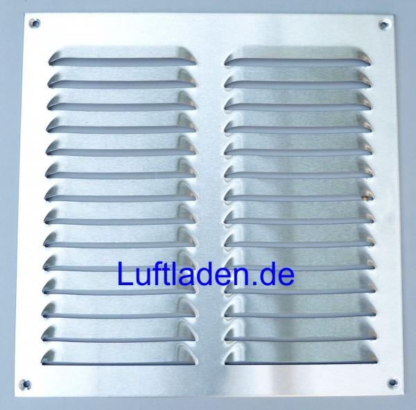 Wetterschutzgitter / Lüftungsgitter 320*320mm Edelstahl