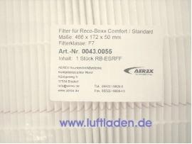 Aerex Feinfilter F7 für Reco-Boxx Comfort