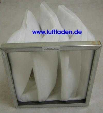 Taschenfilter F5 287*287*300-3T