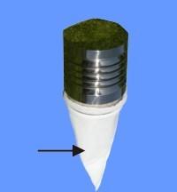 Westaflex Lufteinlassfilter kegelförmig