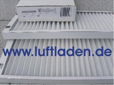 Vaillant Filterset G4 für recoVair 275 und 350