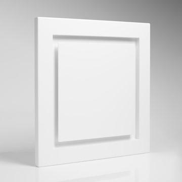 Quadratisches Lüftungsventil Typ Drei