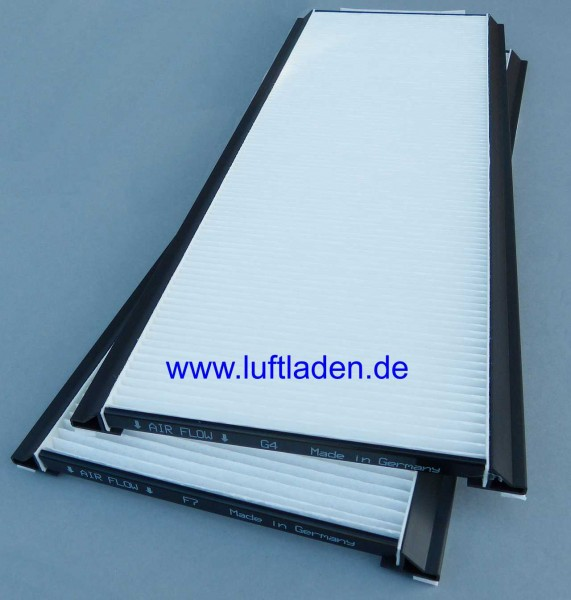 Für Zehnder ComfoAir 350/550 Filter F7/G4 - kompatibel