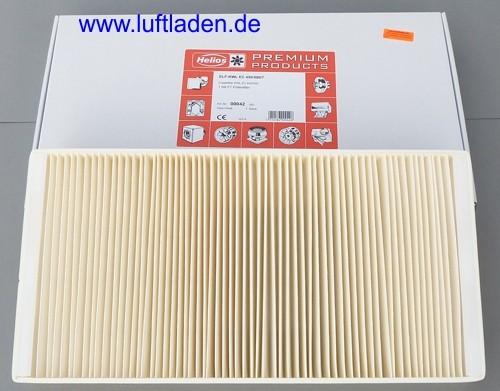 Helios Filterset KWL EC 500 und 450 F7