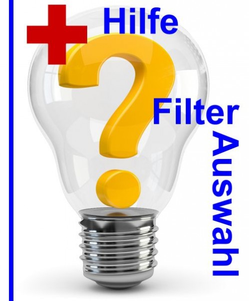 Hilfe Filterauswahl