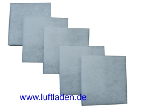Ersatzfilter Filtervlieszuschnitt G3 für Flächenabluftventile