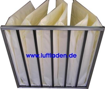 Taschenfilter F8 592*592*600-6T